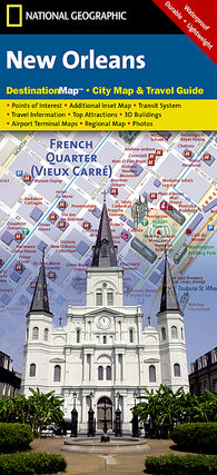 Buy map New Orleans, Louisiana DestinationMap by National Geographic Maps