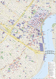 New Orleans, Louisiana DestinationMap by National Geographic Maps - Back of map