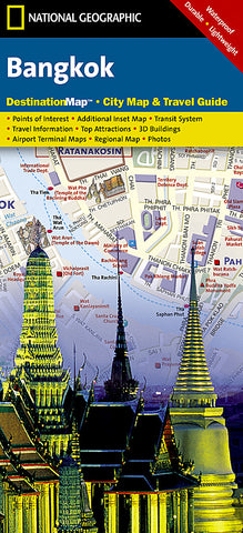 Buy map Bangkok, Thailand DestinationMap by National Geographic Maps