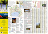 Bangkok, Thailand DestinationMap by National Geographic Maps - Front of map