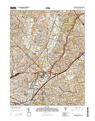 Washington East District of Columbia Historical topographic map, 1:24000 scale, 7.5 X 7.5 Minute, Year 2014