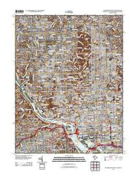 Washington West District of Columbia Historical topographic map, 1:24000 scale, 7.5 X 7.5 Minute, Year 2011
