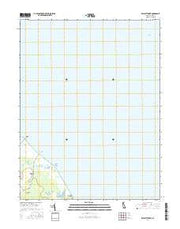 Bennetts Pier Delaware Current topographic map, 1:24000 scale, 7.5 X 7.5 Minute, Year 2016 from Delaware Maps Store