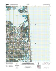 Bethany Beach Delaware Historical topographic map, 1:24000 scale, 7.5 X 7.5 Minute, Year 2011