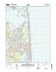 Bethany Beach Delaware Historical topographic map, 1:24000 scale, 7.5 X 7.5 Minute, Year 2014