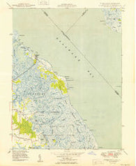 Bombay Hook Delaware Historical topographic map, 1:24000 scale, 7.5 X 7.5 Minute, Year 1949