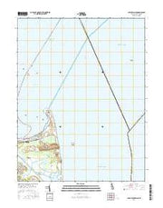 Cape Henlopen Delaware Current topographic map, 1:24000 scale, 7.5 X 7.5 Minute, Year 2016 from Delaware Maps Store