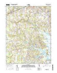 Fairmount Delaware Current topographic map, 1:24000 scale, 7.5 X 7.5 Minute, Year 2016