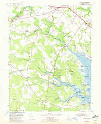 Fairmount Delaware Historical topographic map, 1:24000 scale, 7.5 X 7.5 Minute, Year 1954