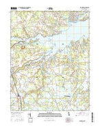 Frankford Delaware Current topographic map, 1:24000 scale, 7.5 X 7.5 Minute, Year 2016 from Delaware Map Store