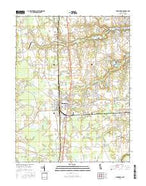 Harrington Delaware Current topographic map, 1:24000 scale, 7.5 X 7.5 Minute, Year 2016 from Delaware Map Store