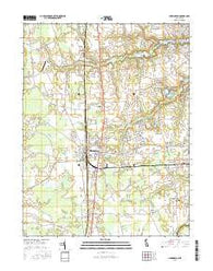 Harrington Delaware Current topographic map, 1:24000 scale, 7.5 X 7.5 Minute, Year 2016