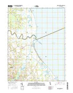 Mispillion River Delaware Current topographic map, 1:24000 scale, 7.5 X 7.5 Minute, Year 2016 from Delaware Map Store