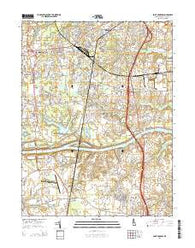 Saint Georges Delaware Historical topographic map, 1:24000 scale, 7.5 X 7.5 Minute, Year 2014