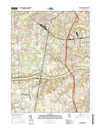 Saint Georges Delaware Current topographic map, 1:24000 scale, 7.5 X 7.5 Minute, Year 2016 from Delaware Map Store