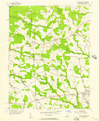 Seaford West Delaware Historical topographic map, 1:24000 scale, 7.5 X 7.5 Minute, Year 1955