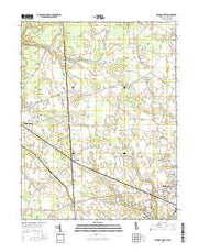 Seaford West Delaware Current topographic map, 1:24000 scale, 7.5 X 7.5 Minute, Year 2016 from Delaware Maps Store