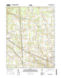 Seaford West Delaware Current topographic map, 1:24000 scale, 7.5 X 7.5 Minute, Year 2016