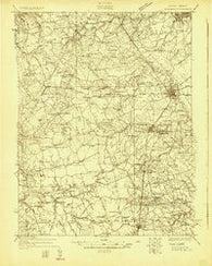 Wyoming Delaware Historical topographic map, 1:48000 scale, 15 X 15 Minute, Year 1926