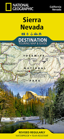 Buy map Sierra Nevada DestinationMap by National Geographic Maps