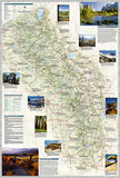 Sierra Nevada DestinationMap by National Geographic Maps - Back of map