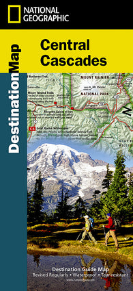 Buy map Cascades, Central DestinationMap by National Geographic Maps