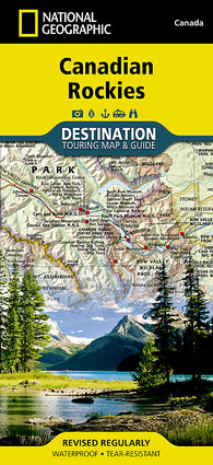 Buy map Canadian Rockies DestinationMap by National Geographic Maps