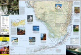 Miami, Florida and the Keys Destination Map by National Geographic Maps - Front of map