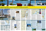Miami, Florida and the Keys Destination Map by National Geographic Maps - Back of map
