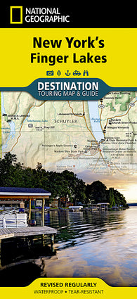 Buy map New Yorks Finger Lakes DestinationMap by National Geographic Maps