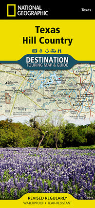 Buy map Texas Hill Country DestinationMap by National Geographic Maps
