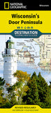 Buy map Wisconsins Door Peninsula DestinationMap by National Geographic Maps