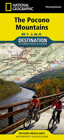 Buy map Pocono Mountains, PA, DestinationMap by National Geographic Maps
