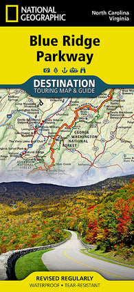 Buy map Destination Map, Blue Ridge Parkway by National Geographic Maps