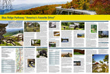 Destination Map, Blue Ridge Parkway by National Geographic Maps - Back of map
