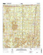 Alford Florida Current topographic map, 1:24000 scale, 7.5 X 7.5 Minute, Year 2015 from Florida Map Store