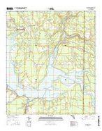 Allanton Florida Current topographic map, 1:24000 scale, 7.5 X 7.5 Minute, Year 2015 from Florida Map Store
