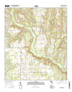 Allentown Florida Current topographic map, 1:24000 scale, 7.5 X 7.5 Minute, Year 2015 from Florida Map Store