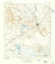 Arredondo Florida Historical topographic map, 1:62500 scale, 15 X 15 Minute, Year 1890