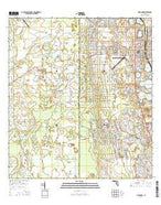 Avon Park Florida Current topographic map, 1:24000 scale, 7.5 X 7.5 Minute, Year 2015 from Florida Map Store