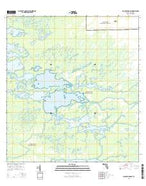 Big Lostmans Bay Florida Current topographic map, 1:24000 scale, 7.5 X 7.5 Minute, Year 2015 from Florida Map Store