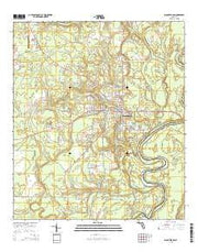 Blountstown Florida Current topographic map, 1:24000 scale, 7.5 X 7.5 Minute, Year 2015 from Florida Maps Store