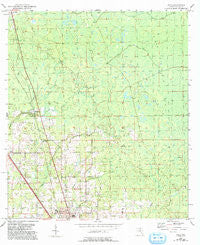 Boyd Florida Historical topographic map, 1:24000 scale, 7.5 X 7.5 Minute, Year 1954