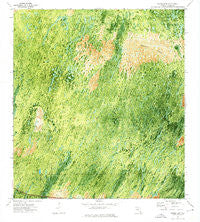 Burns Lake Florida Historical topographic map, 1:24000 scale, 7.5 X 7.5 Minute, Year 1972
