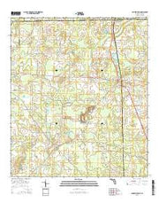 Campbellton Florida Current topographic map, 1:24000 scale, 7.5 X 7.5 Minute, Year 2015 from Florida Maps Store
