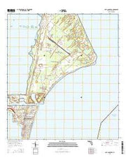 Cape Canaveral Florida Current topographic map, 1:24000 scale, 7.5 X 7.5 Minute, Year 2015 from Florida Maps Store