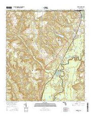 Century Florida Current topographic map, 1:24000 scale, 7.5 X 7.5 Minute, Year 2015 from Florida Maps Store