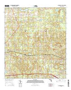 Cottondale East Florida Current topographic map, 1:24000 scale, 7.5 X 7.5 Minute, Year 2015 from Florida Map Store