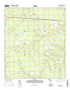 Cypress Creek Florida Current topographic map, 1:24000 scale, 7.5 X 7.5 Minute, Year 2015 from Florida Map Store