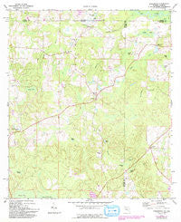 Darlington Florida Historical topographic map, 1:24000 scale, 7.5 X 7.5 Minute, Year 1987